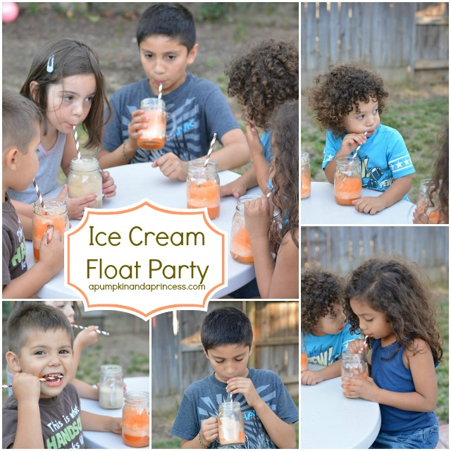 Ice Cream Float Party
