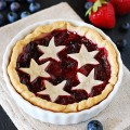 Mini Strawberry Blueberry Pies
