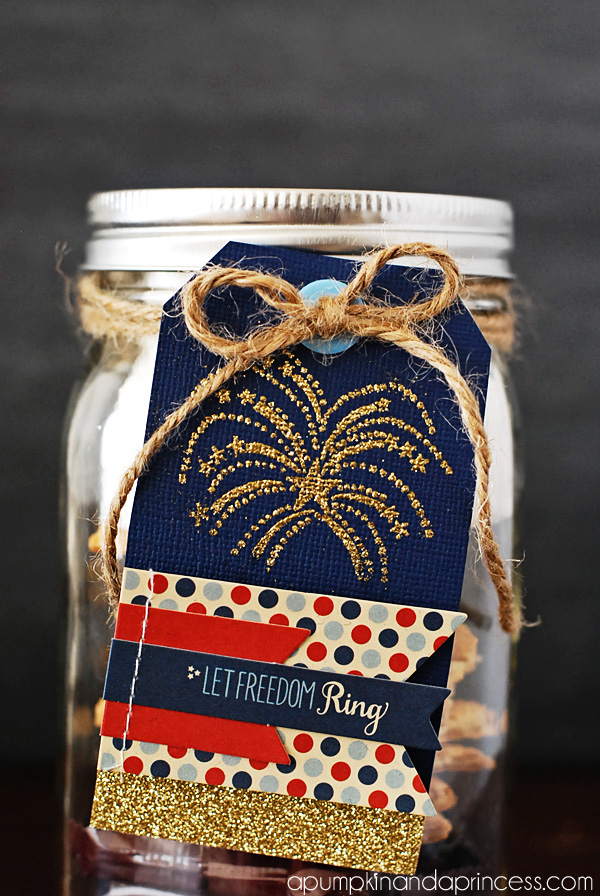 Great neighbor gift idea for the fourth of July