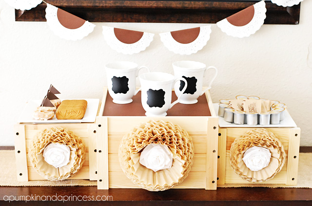 Coffee Party Ideas #coffee #party