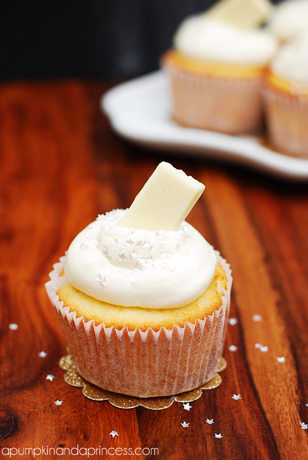 White Chocolate Cupcake And Frosting Recipe