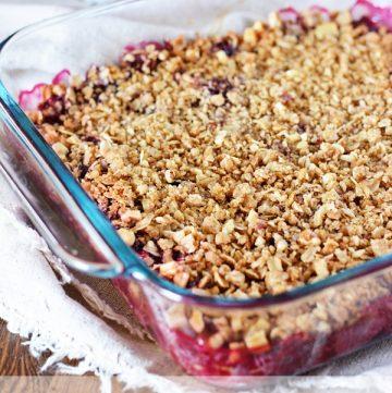 Mixed Berry Crisp