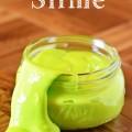 Homemade Glow in the dark Slime Recipe