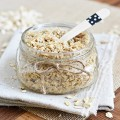 Homemade Coconut Oatmeal Scrub Recipe