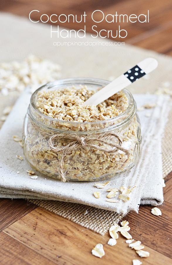 Homemade Coconut Oatmeal Scrub - A