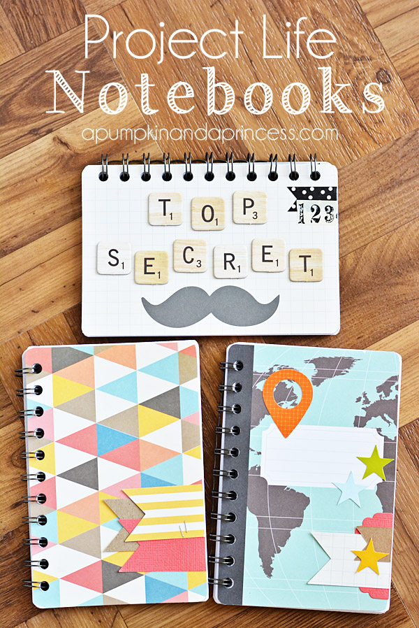 How to make a notebook with project life cards