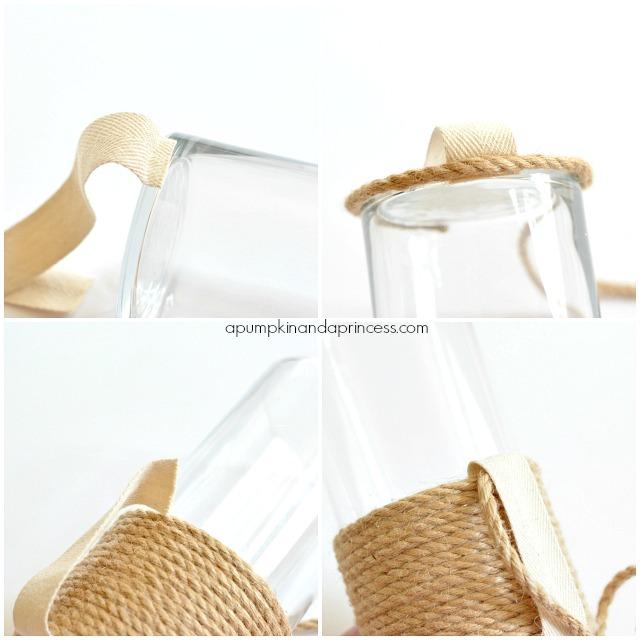 sisal rope vase