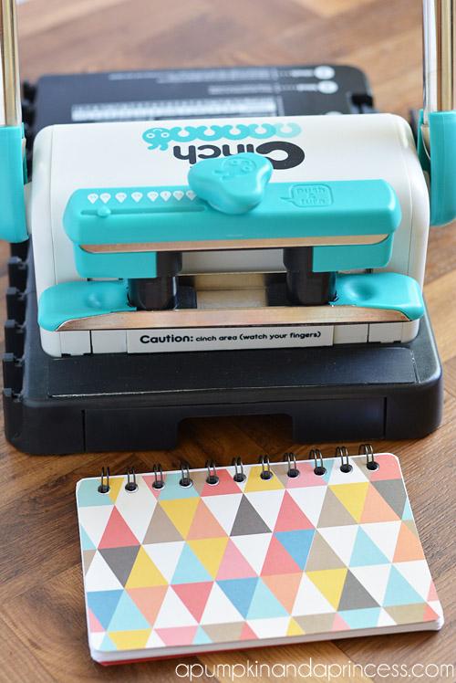 cinch notebook tutorial
