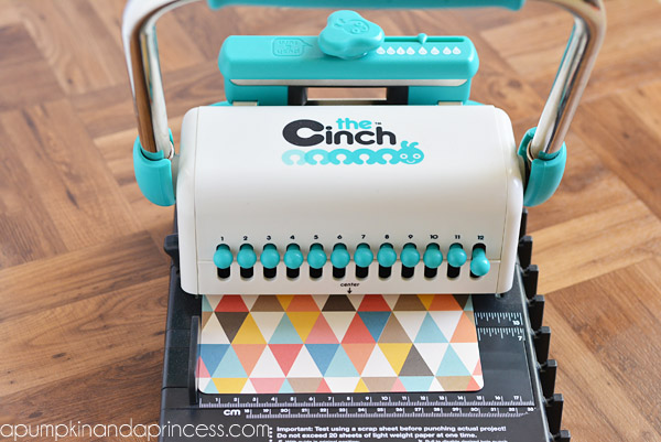 the cinch notebook tutorial