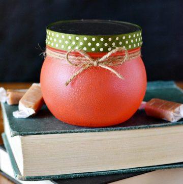 Apple Treat Jar