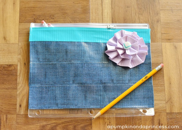 Duck Tape Crafts - pencil pouch