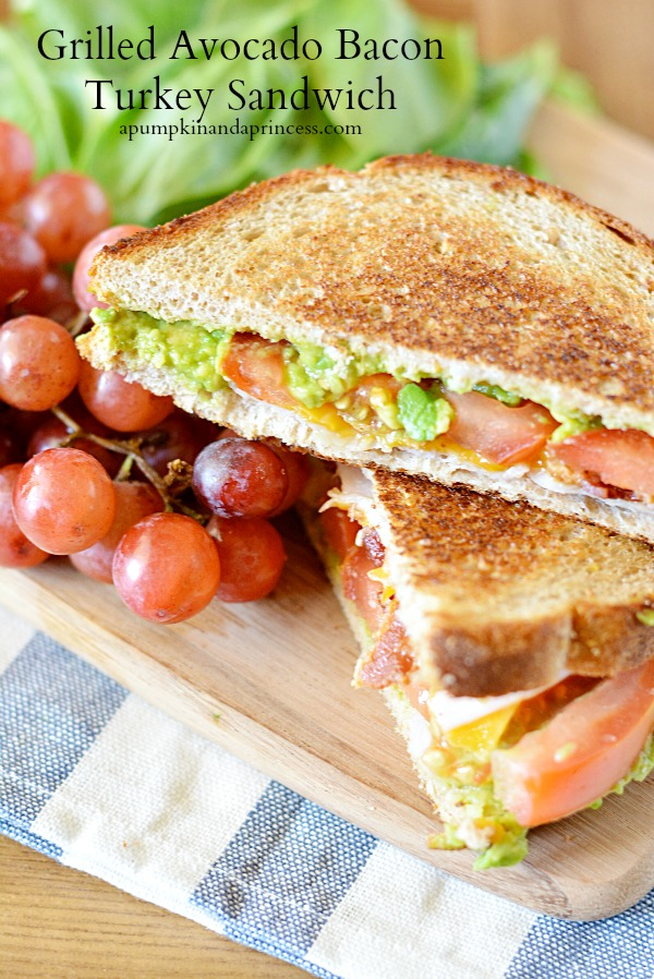 Avocado Bacon Turkey Sandwich