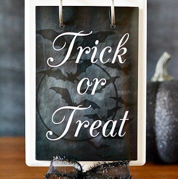 Free Halloween Chalkboard Printable