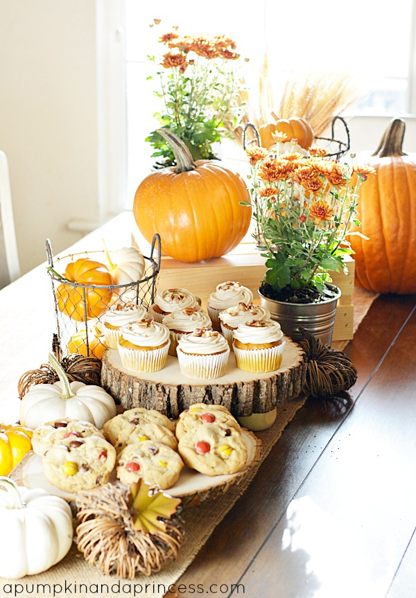 Fall Party Peanut Butter Cookies Recipe A Pumpkin And