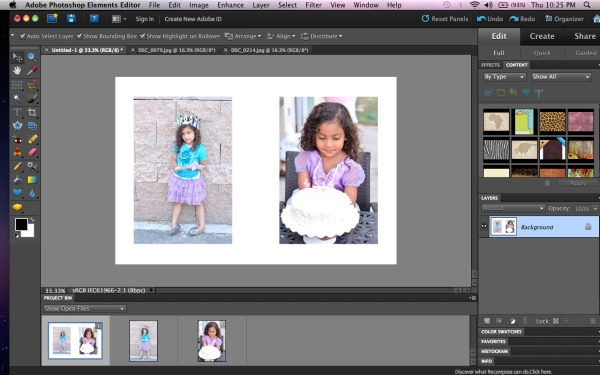 Project Life picture tutorial