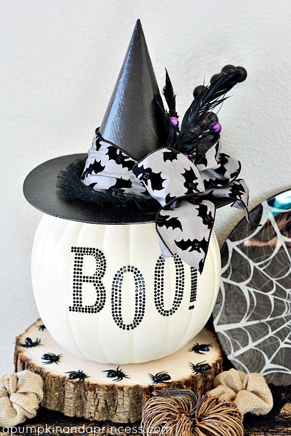 Halloween Decorations A Pumpkin And Princess