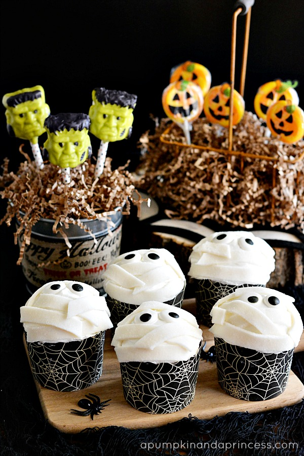 Halloween treats for kids a pumpkin and a princess for Food ideas for toddler halloween party