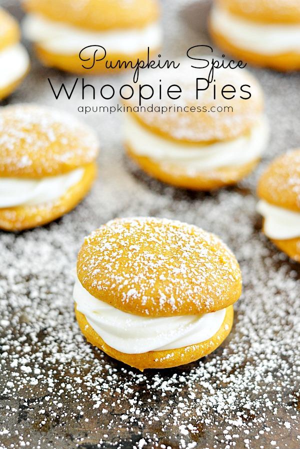 Pumpkin Spice Whoopie Pie Recipe