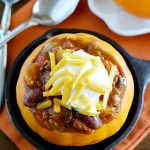 Slow Cooker Spicy Pumpkin Chili