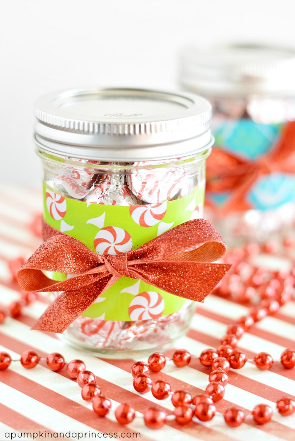 Candy Gift in a Jar