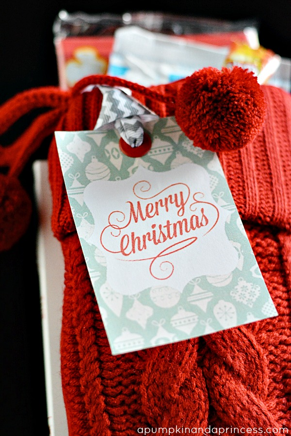 Printable Christmas Gift Tag