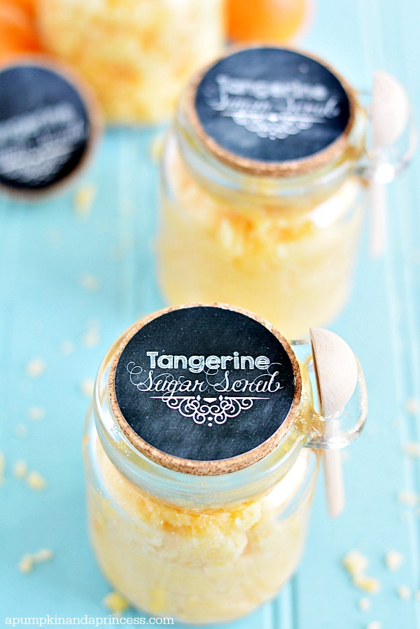 Tangerine Sugar Scrub