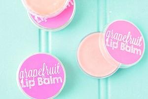 Homemade Grapefruit Lip Balm Recipe