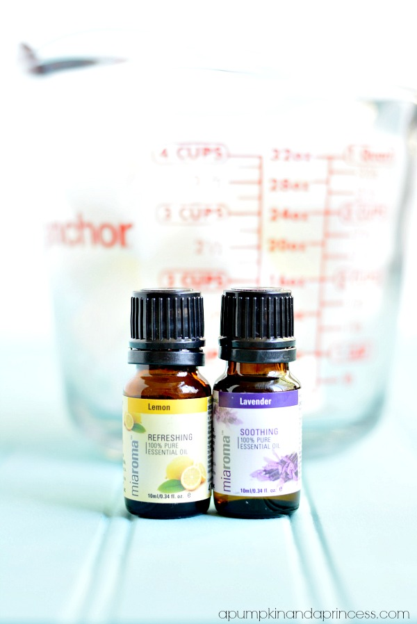 Homemade Lavender Lemon Soap - Ingredients