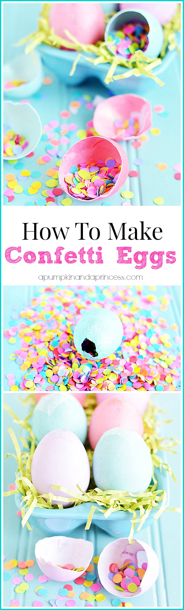How To Make Confetti Eggs Tutorial