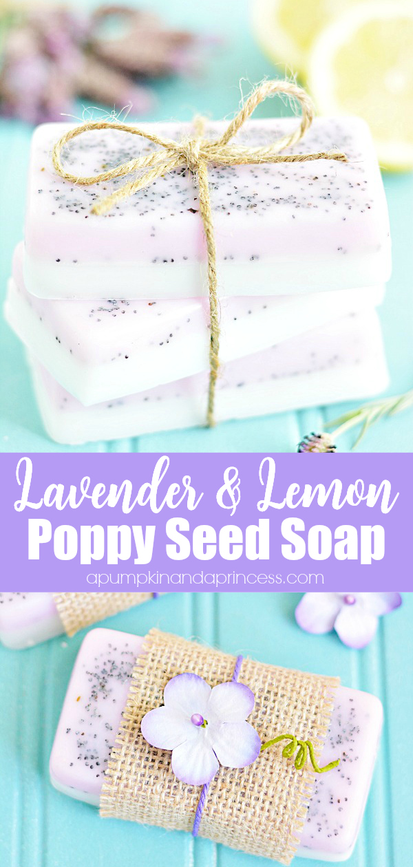 How to make lavender and lemon essential oil soap