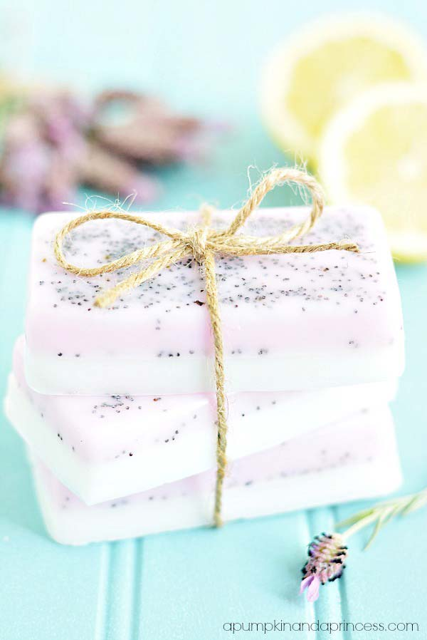 Homemade Lavender Lemon Soap | Most-Liked Homemade Soap Recipes For Frugal Homesteaders