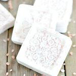 Easy melt and pour exfoliating himalayan salt grapefruit soap