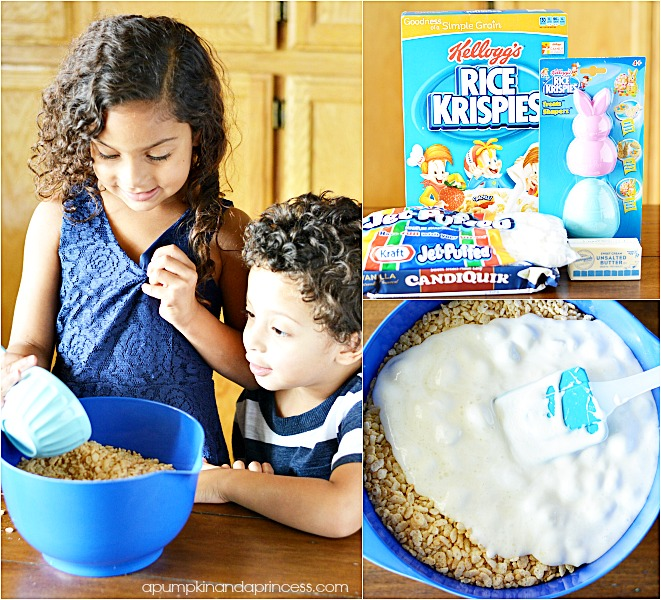 Rice Krispies Treats - collage