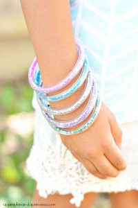 DIY Tube Bracelet Tutorial