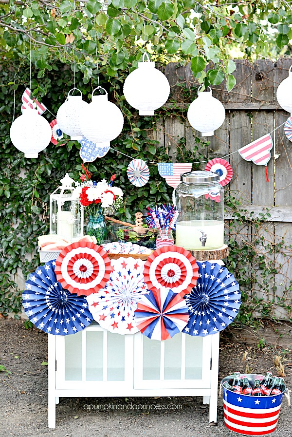 Fourth of july party decorating ideas a pumpkin and a for 4th of july decorating ideas for outside