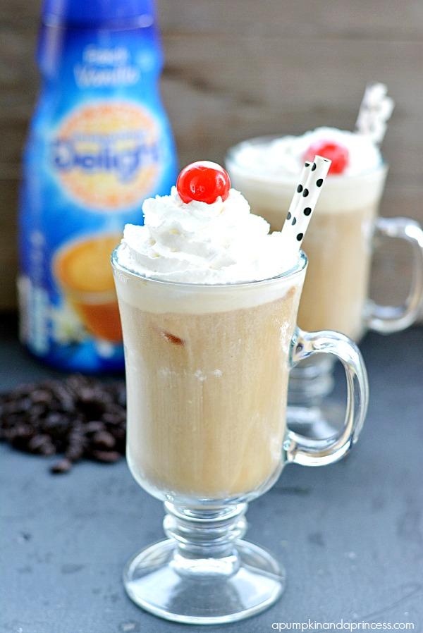 French Vanilla Coffee Float