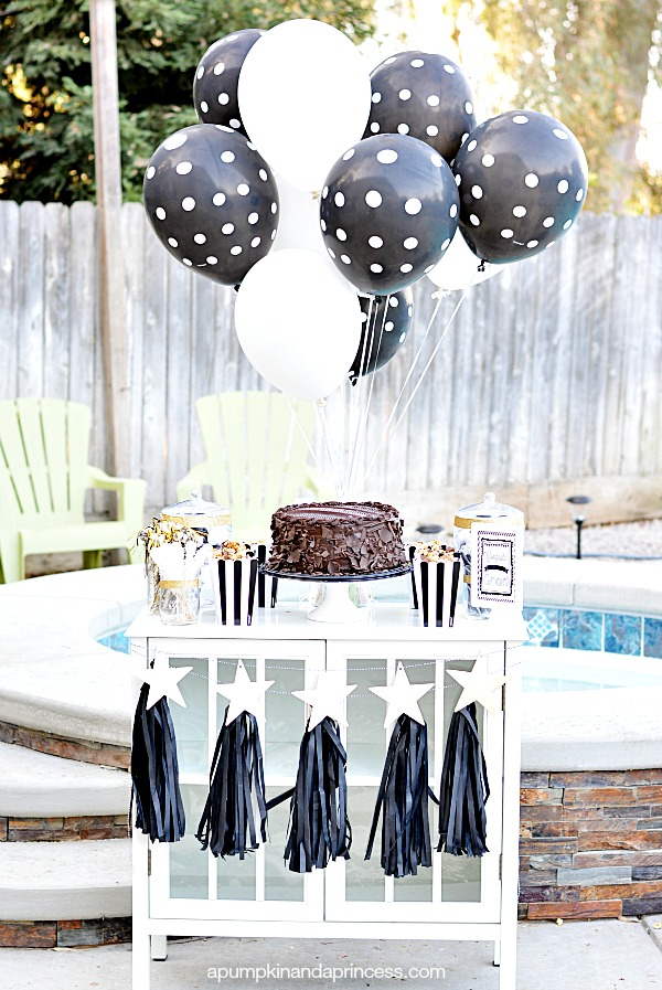 Graduation Party Table Display
