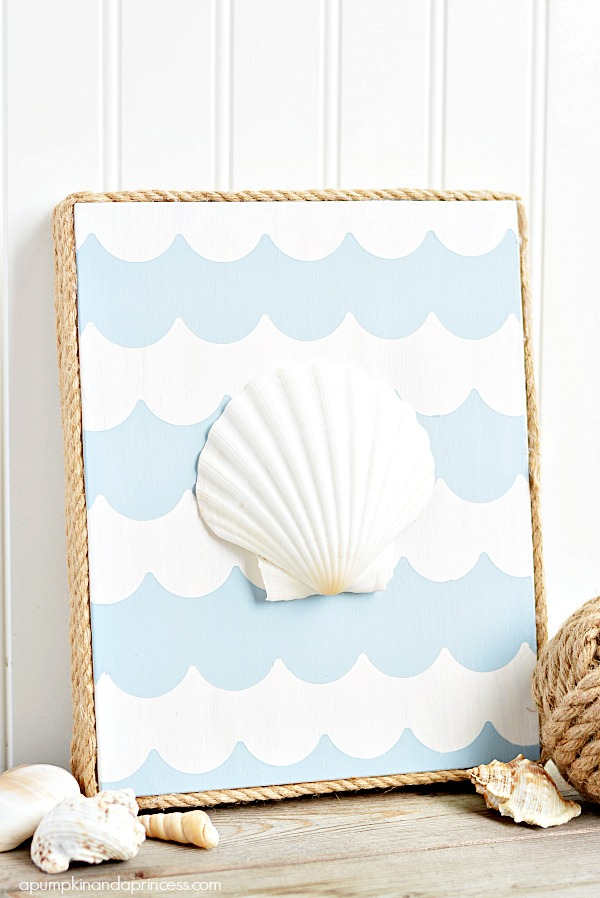 Nautical Seashell Art