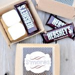 S'mores Printable Gift Tags – Party Favors