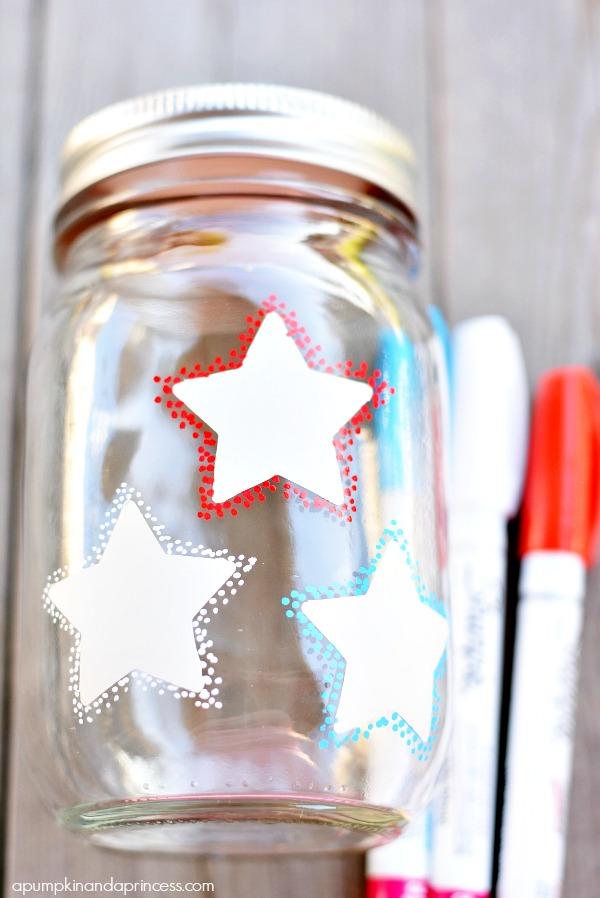 Star Mason Jars
