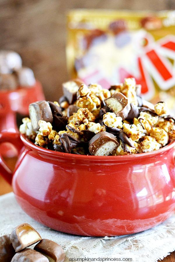 Twix Caramel Popcorn Recipe