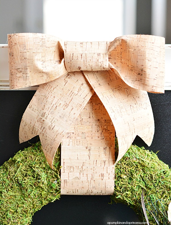 Cork Ribbon Bow
