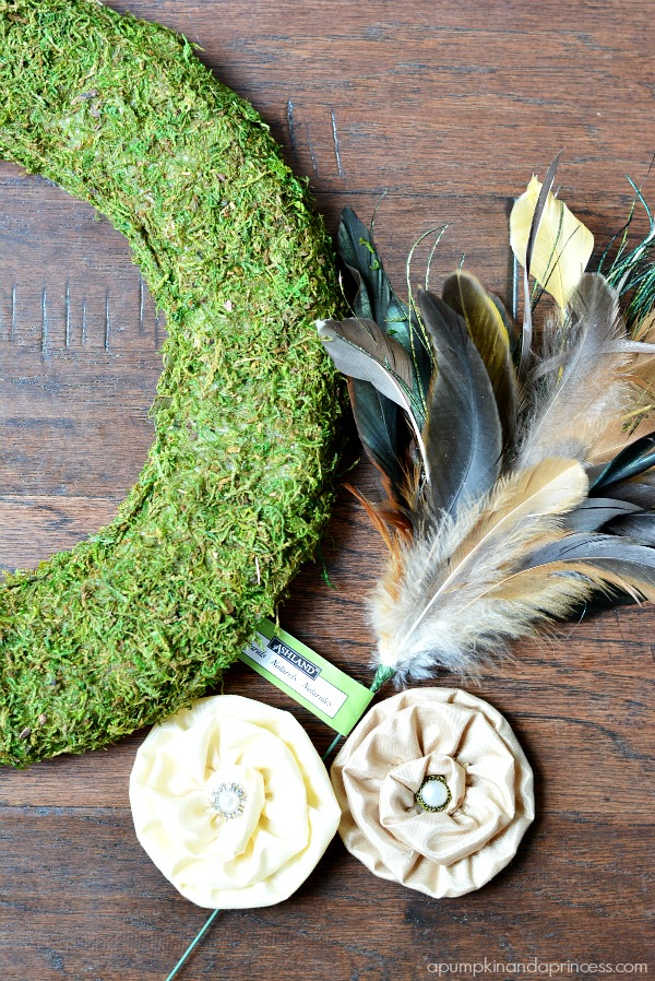 Moss Wreath tutorial