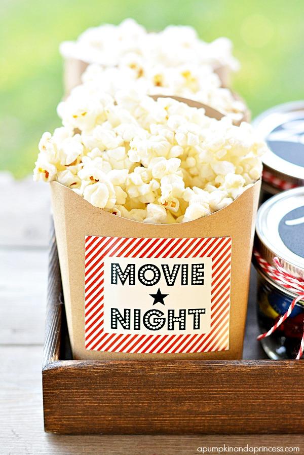 Movie Night Printables