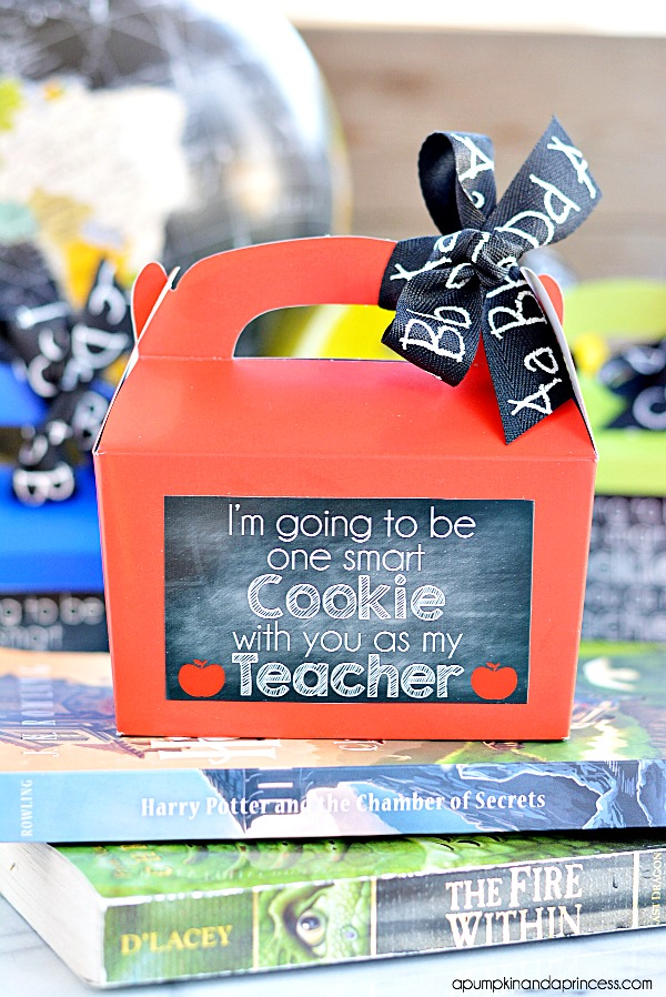 Chalkboard Printable Teacher Appreciation Gift