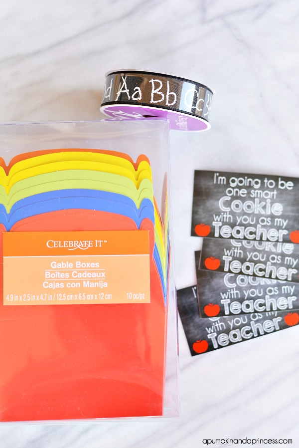 Cookie Teacher Appreciation Gifts