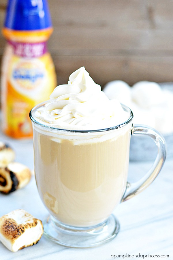Marshmallow Caramel Latte Recipe