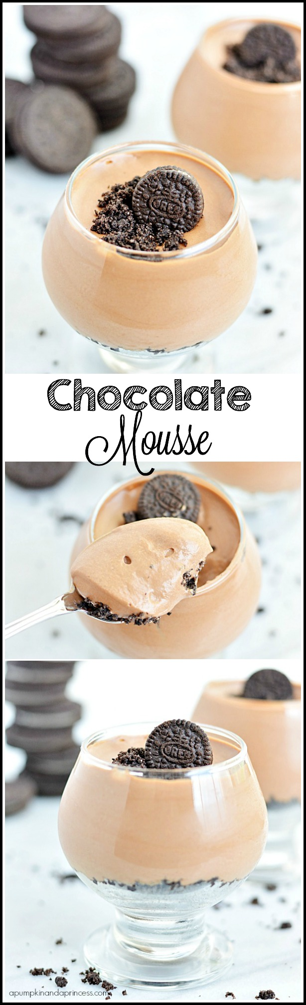 Oreo Crumb Chocolate Mousse