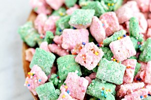 Pink Muddy Buddies
