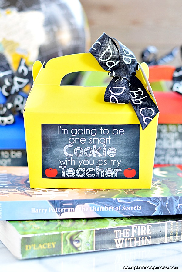 Smart Cookie Teacher Appreciation Gift Printable